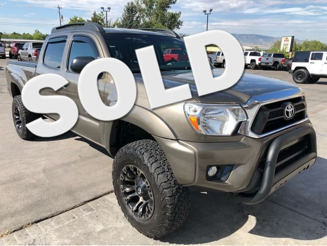 2015 Toyota Tacoma Double Cab Long Bed V6 5AT 4WD LINDON, UT