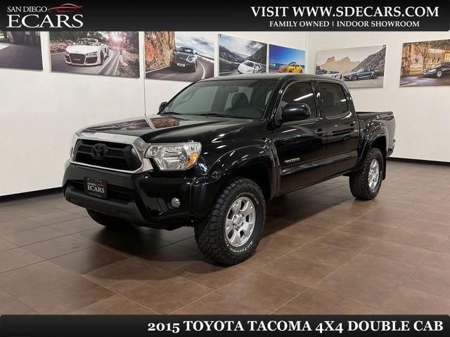 2015 Toyota Tacoma 4x4 Double Cab