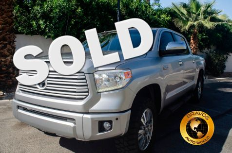2015 Toyota Tundra Platinum in cathedral city