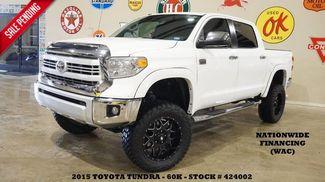 2015 Toyota Tundra CrewMax 1794 4X4 LIFTED,ROOF,NAV,HTD/COOL LTH,BLK 20'S,... in Carrollton TX, 75006