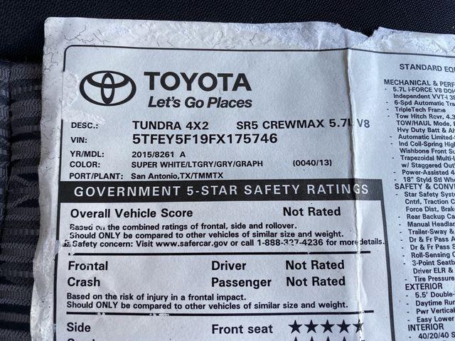 2015 Toyota Tundra SR5 Madison, NC 17