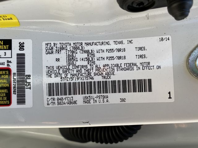 2015 Toyota Tundra SR5 Madison, NC 49