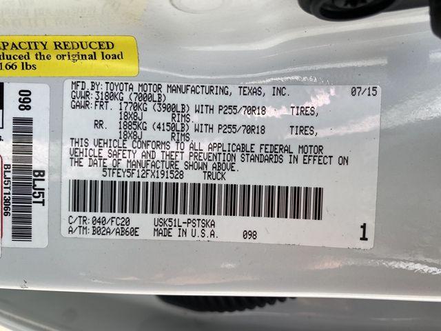 2015 Toyota Tundra SR5 Madison, NC 41