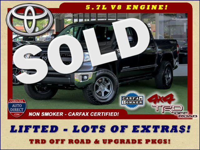 2015 Toyota Tundra SR5 CrewMax 4x4 TRD OFF ROAD - LIFTED-UPGRADE PKG! Mooresville , NC 0