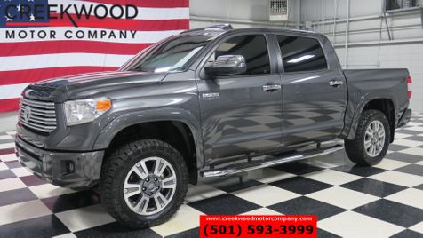 2015 Toyota Tundra Platinum 4x4 Gray Nav Roof Tv Dvd 20s New Tires in Searcy, AR