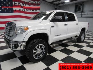 2015 Toyota Tundra Limited 4x4 Crew Max Lifted Chrome 20s Nav Sunroof in Searcy, AR 72143