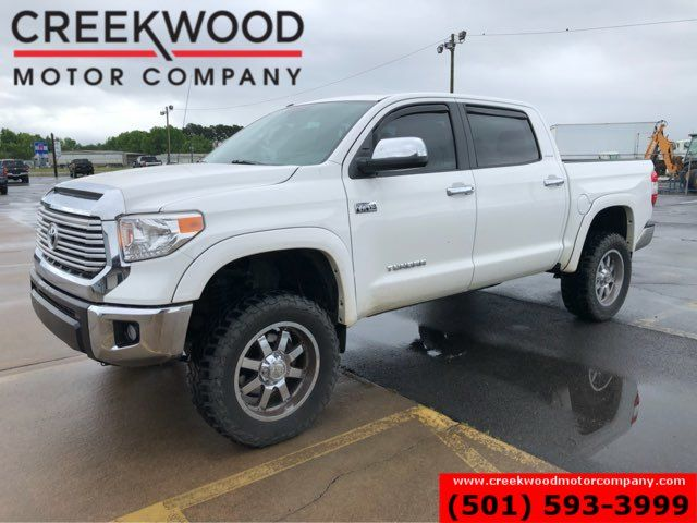 2015 Toyota Tundra Limited 4x4 Crew Max Lifted Chrome 20s Nav Sunroof