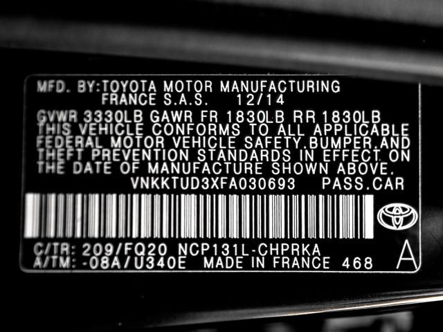 2015 Toyota Yaris L Burbank, CA 23
