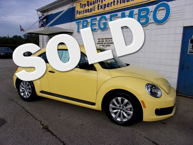 2015 Volkswagen Beetle Coupe 1.8T Classic in Bentleyville Pennsylvania, 15314