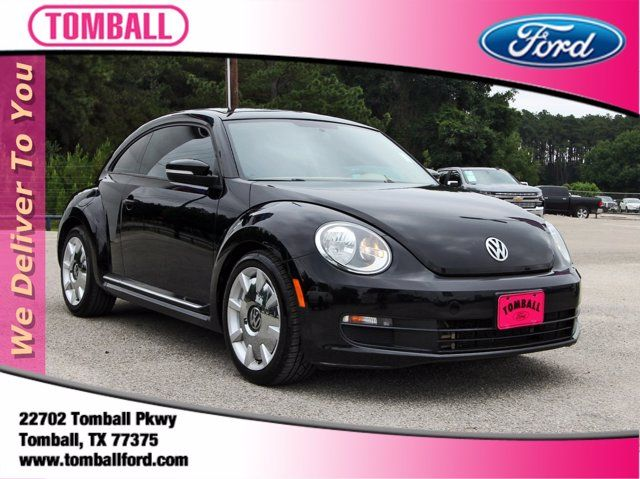 2015 Volkswagen Beetle Coupe 1.8T w/Sun/Sound/Nav in Tomball, TX 77375
