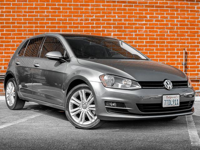 2015 Volkswagen Golf TDI SE Burbank, CA 1