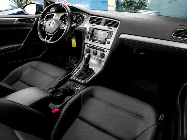 2015 Volkswagen Golf TDI SE Burbank, CA 12