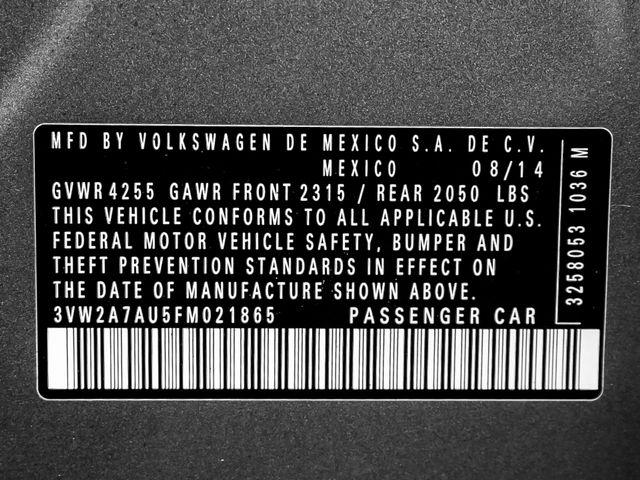 2015 Volkswagen Golf TDI SE Burbank, CA 26