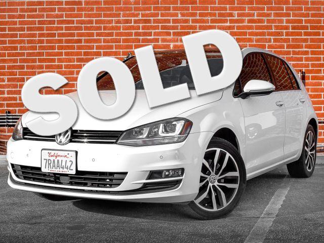2015 Volkswagen Golf TSI SE Burbank, CA