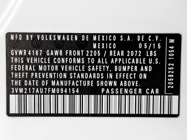 2015 Volkswagen Golf TSI SE Burbank, CA 25
