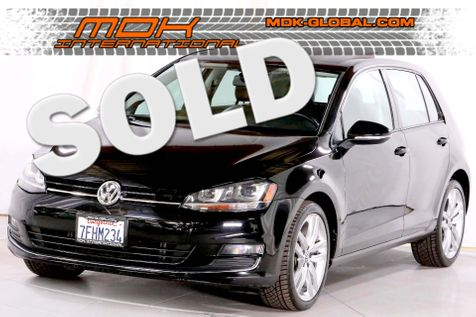 2015 Volkswagen Golf TSI SEL - Xenon - Sunroof - Leather  - 17K miles in Los Angeles