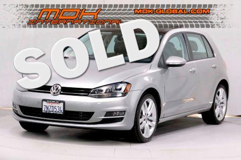 2015 Volkswagen Golf TSI SEL - LED lights - Nav - Back up camera in Los Angeles
