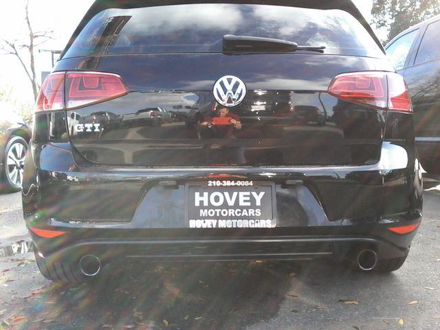 2015 Volkswagen Golf GTI Autobahn Boerne, Texas 8