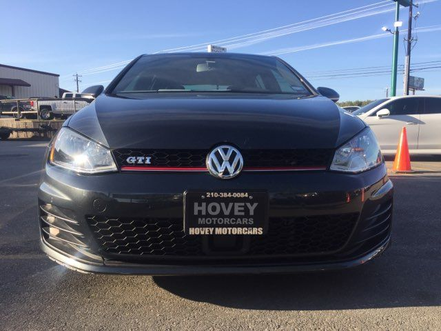 2015 Volkswagen Golf GTI SE Boerne, Texas 3