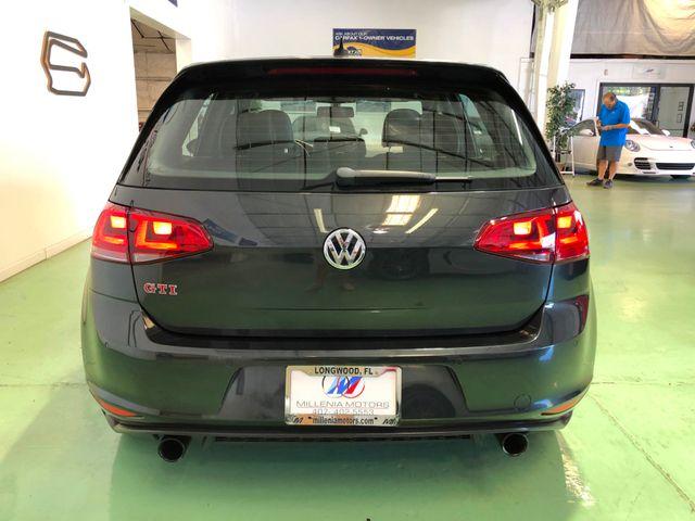 2015 Volkswagen Golf GTI Autobahn w/Performance Pkg Longwood, FL 9