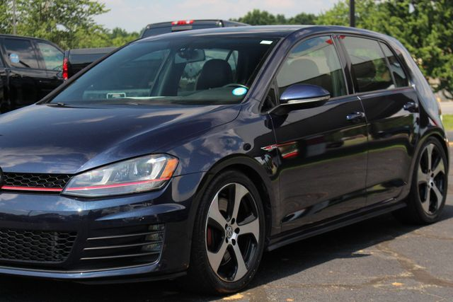 2015 Volkswagen Golf GTI Autobahn FWD - SUNROOF - HEATED LEATHER - TURBO! Mooresville , NC 30