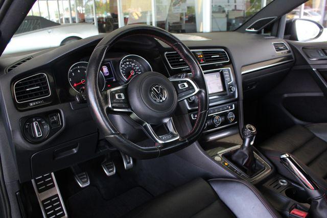 2015 Volkswagen Golf GTI Autobahn FWD - SUNROOF - HEATED LEATHER - TURBO! Mooresville , NC 23