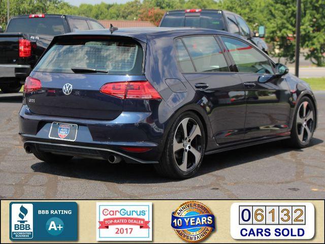 2015 Volkswagen Golf GTI Autobahn FWD - SUNROOF - HEATED LEATHER - TURBO! Mooresville , NC 2