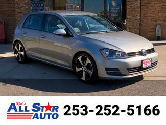 2015 Volkswagen Golf TSI SE 4-Door in Puyallup Washington, 98371
