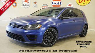 2015 Volkswagen Golf R AWD AUTO,MATTE WRAP,NAV,HTD LTH,FENDER SYS,29K! in Carrollton TX, 75006