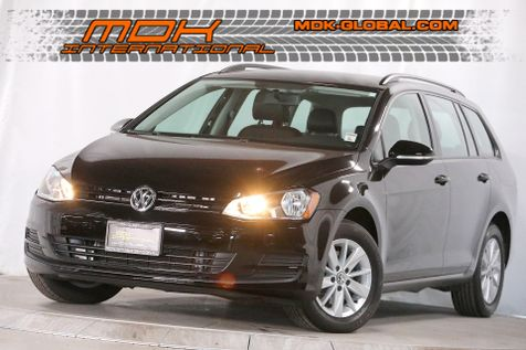 2015 Volkswagen Golf SportWagen TSI S - Leatherette - Only 27K miles in Los Angeles