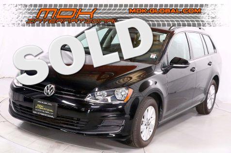 2015 Volkswagen Golf SportWagen TSI S - Leatherette - Only 27K miles in Los Angeles