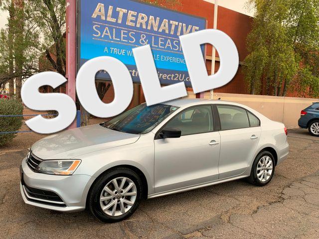 2015 Volkswagen Jetta 1.8T SE 3 MONTH3,000 MILE NATIONAL POWERTRAIN WARRANTY Mesa, Arizona