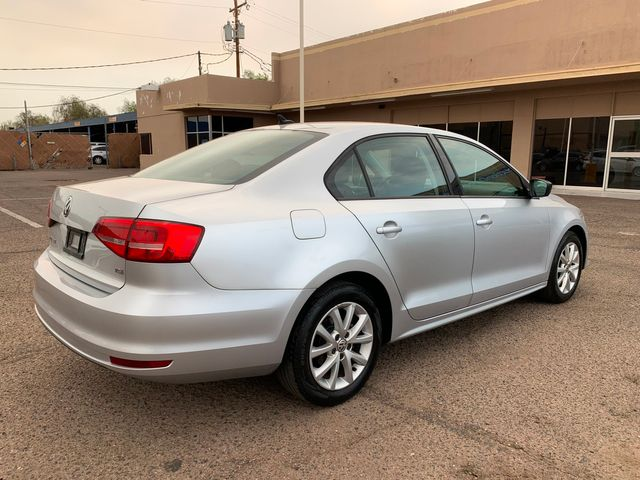 2015 Volkswagen Jetta 1.8T SE 3 MONTH3,000 MILE NATIONAL POWERTRAIN WARRANTY Mesa, Arizona 4
