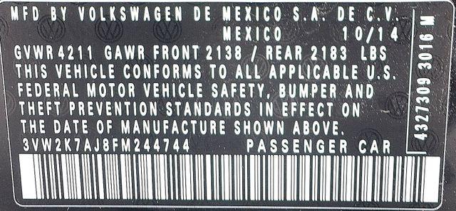 2015 Volkswagen Jetta 2.0L S *SALVAGE TITLE* Reseda, CA 38
