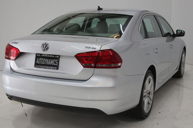 2015 Volkswagen Passat 2.0L TDI SE w/Sunroof Houston, Texas 7