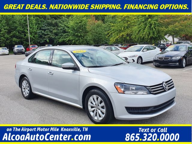 2015 Volkswagen Passat 1.8T Wolfsburg Ed w/Leather/Heated Seats/Bluetooth in Louisville, TN 37777