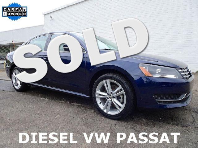 2015 Volkswagen Passat 2.0L TDI SE w/Sunroof Madison, NC 0