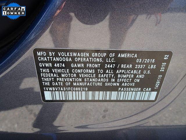 2015 Volkswagen Passat 2.0L TDI SE w/Sunroof Madison, NC 51
