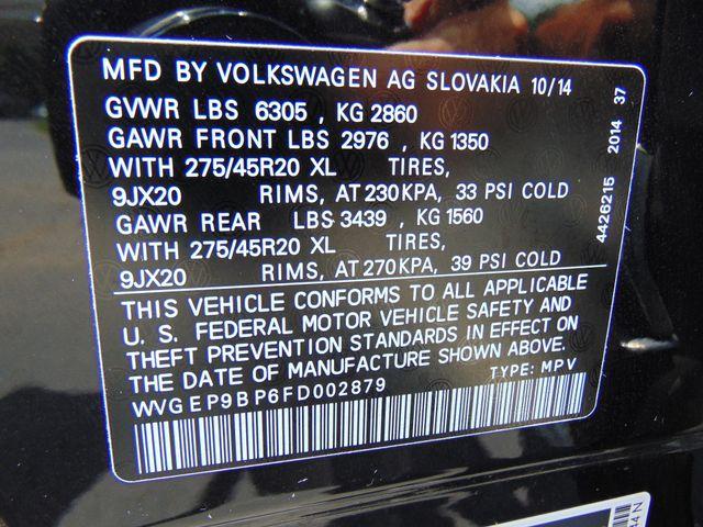 2015 Volkswagen Touareg Executive Leesburg, Virginia 43