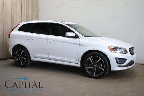 2015 Volvo XC60 T6 R-Design Platinum AWD Crossover with Navigation, Panoramic Moonroof & 20