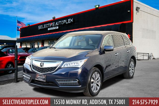 2016 Acura MDX w/Tech/Entertainment/Acura watch plus