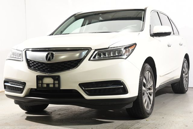 2016 Acura MDX w/Tech/Entertainment/AcuraWatch Plus