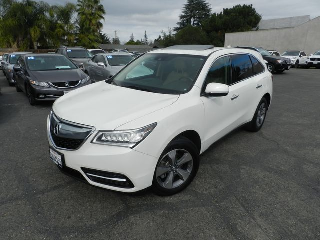2016 Acura MDX w/AcuraWatch Plus in Campbell, CA 95008