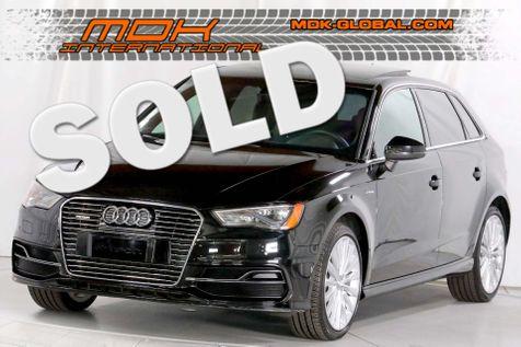 2016 Audi A3 e-tron Premium Plus - SPORT pkg - Navigation - Tech pkg  in Los Angeles