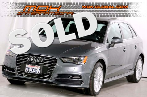 2016 Audi A3 e-tron Premium Plus - Tech pkg - Nav -  in Los Angeles