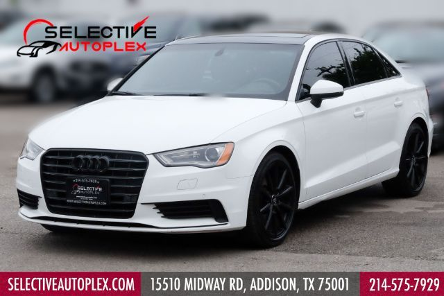 2016 Audi A3 Sedan 1.8T Premium,Sunroof,Leather,HTD seats, in Addison, TX 75001