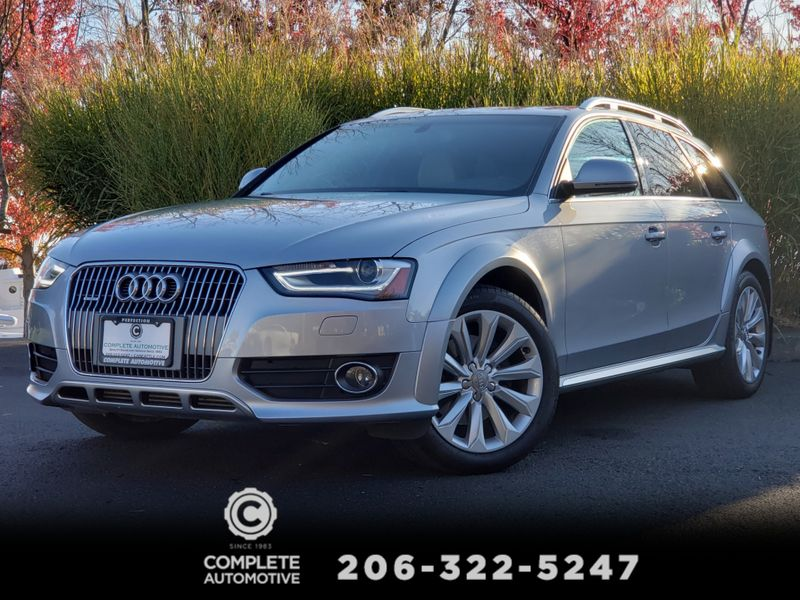 2016 Audi A4 Allroad Wagon Quattro Techno Premium Plus Sport B  O Sound Packages   city Washington  Complete Automotive  in Seattle, Washington