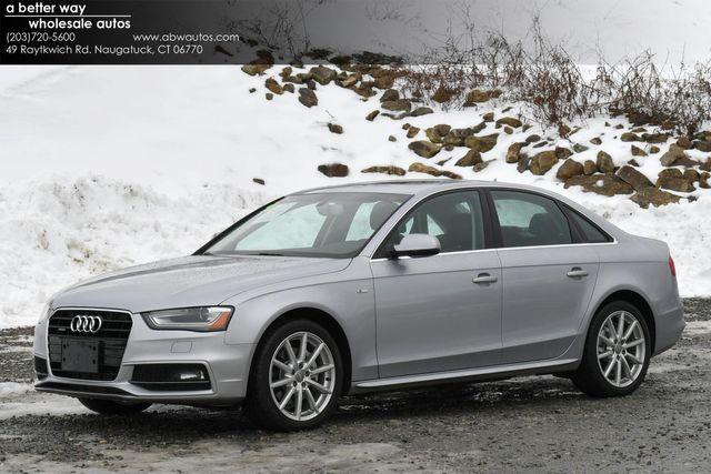 2016 Audi A4 Premium Plus Naugatuck, Connecticut