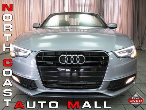 2016 Audi A5 Cabriolet Premium Plus in Akron, OH
