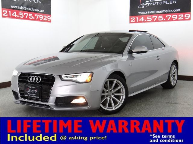 2016 Audi A5 Coupe Premium Plus, NAV, LEATHER SEATS, BACK UP CAMERA in Carrollton, TX 75006